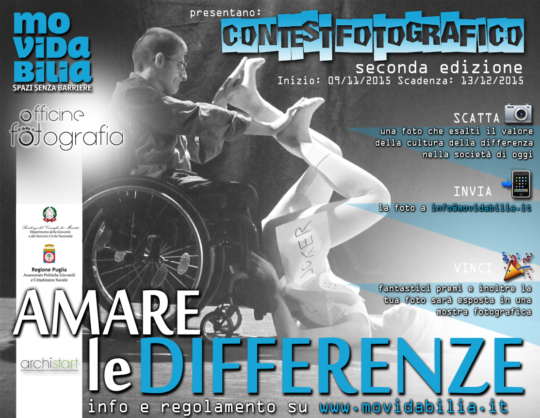 Locandina del contest fotografico Pic of difference - amare le differenze, 2 edizione