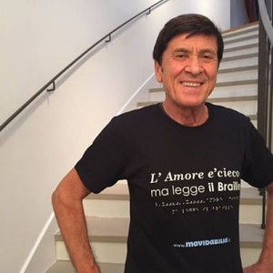 Gianni Morandi,  testimonial della campagna Accessibility is cool