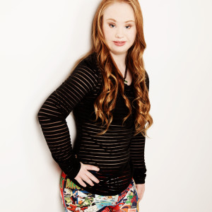 Madeline, bellissima ragazza down, modella per la NY Fashion week